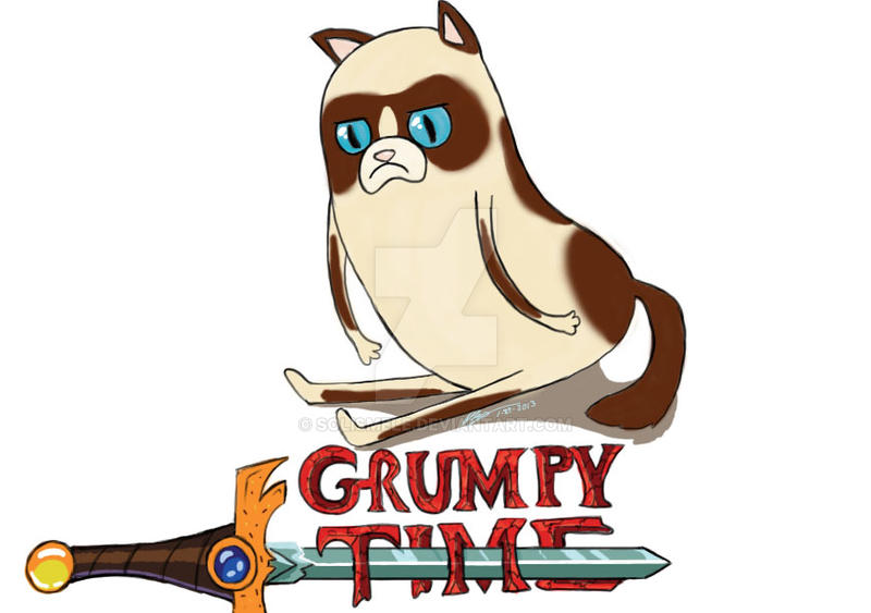 Grumpy Time! by solismele