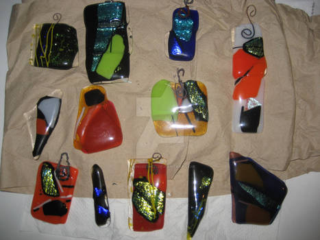 Fused Glass - With Flash