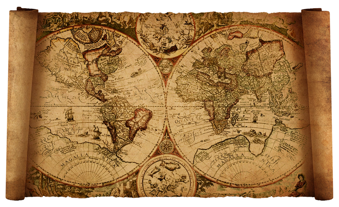 Old world map by hanisantosa on deviantart old world map by hanisantosa gumiabroncs Choice Image