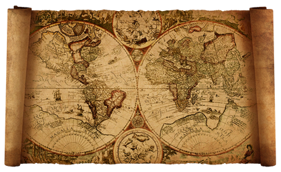 old world map by HaniSantosa