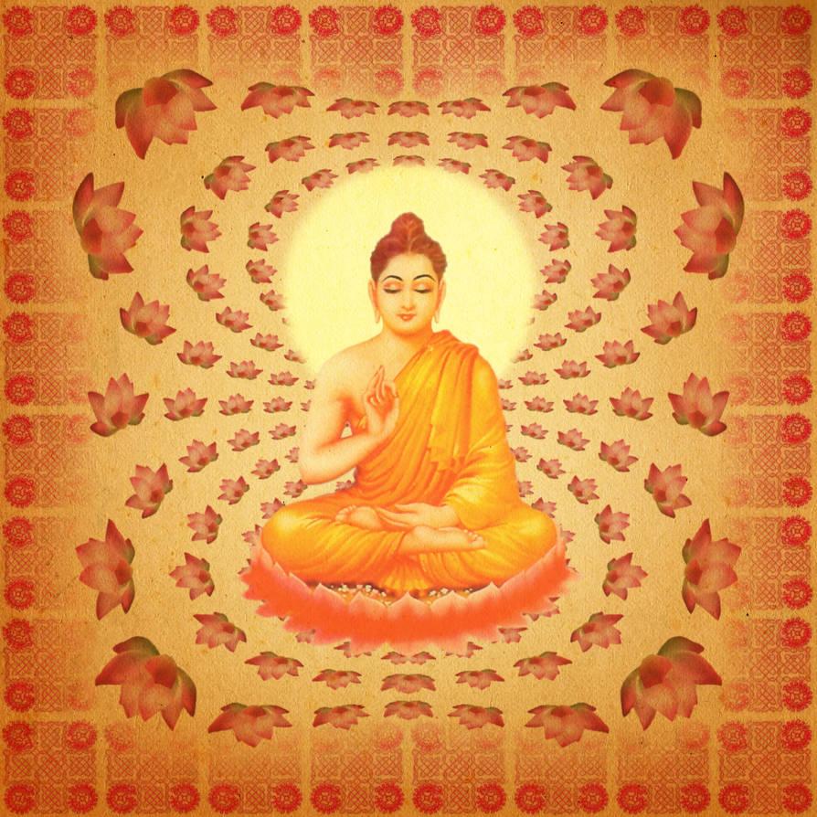 buddha lotus fractal