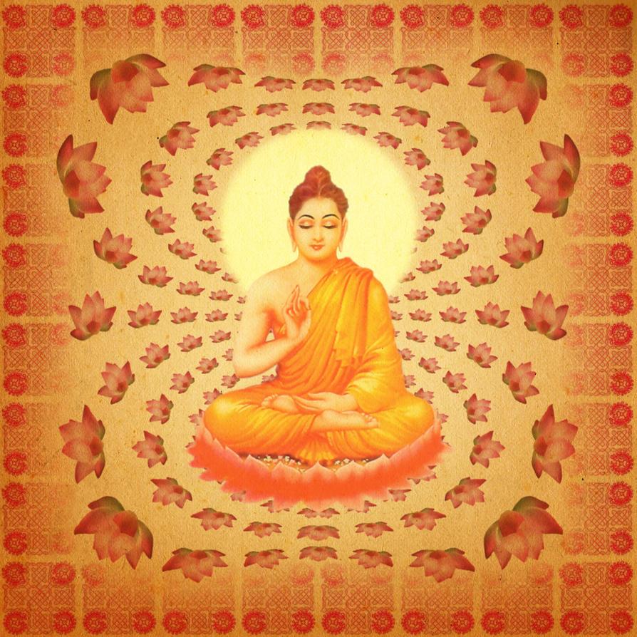 buddha lotus fractal by hanciong