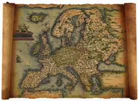 old europe map by HaniSantosa