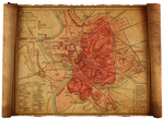 old rome map