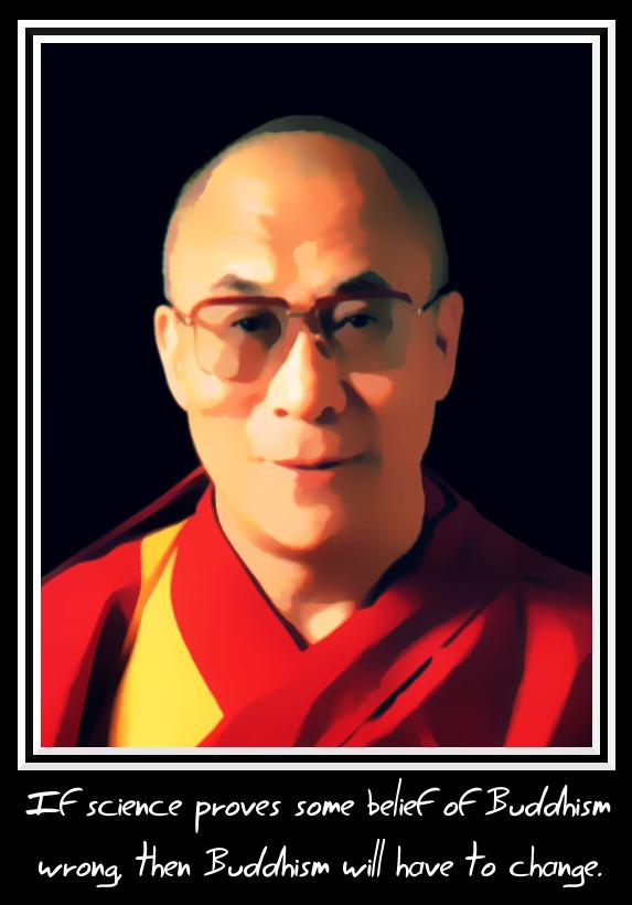 dalai lama and science by hanciong