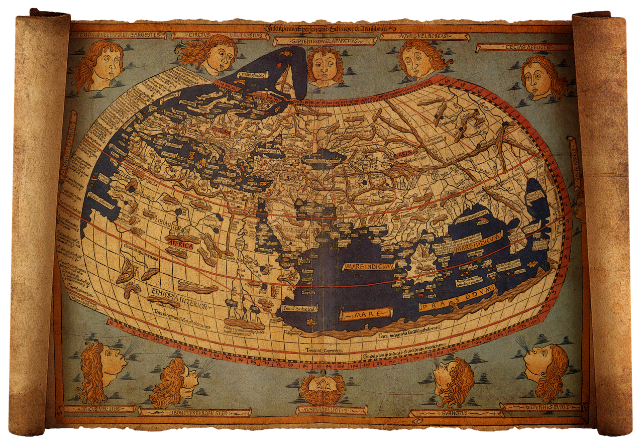 Old world map 2 by hanisantosa on deviantart old world map 2 by hanisantosa gumiabroncs Gallery