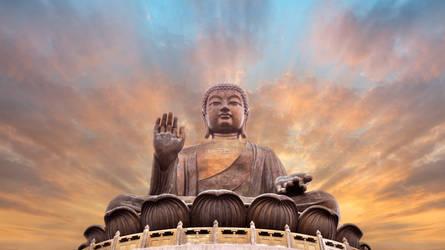 buddha sky by HaniSantosa