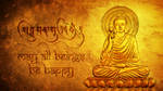Golden Buddha by HaniSantosa
