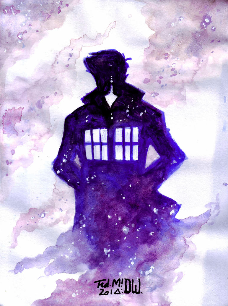 TENTH DOCTOR: THE SHADOW OF TARDIS by Frederic-Mur