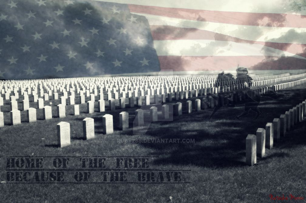 Home Of The Free Because Of The Brave by Ruby288