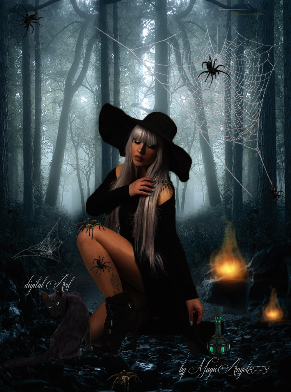Magic Spiderwoman