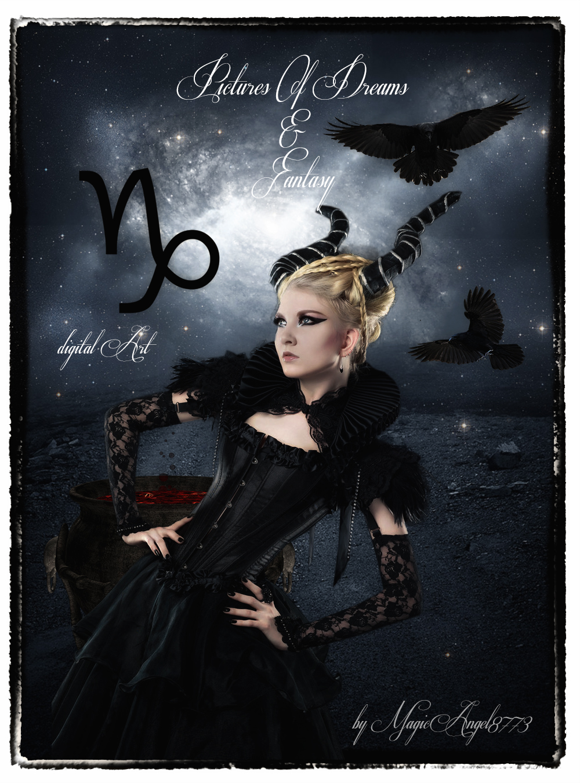 Capricorn Zodiac by MagicAngel8773