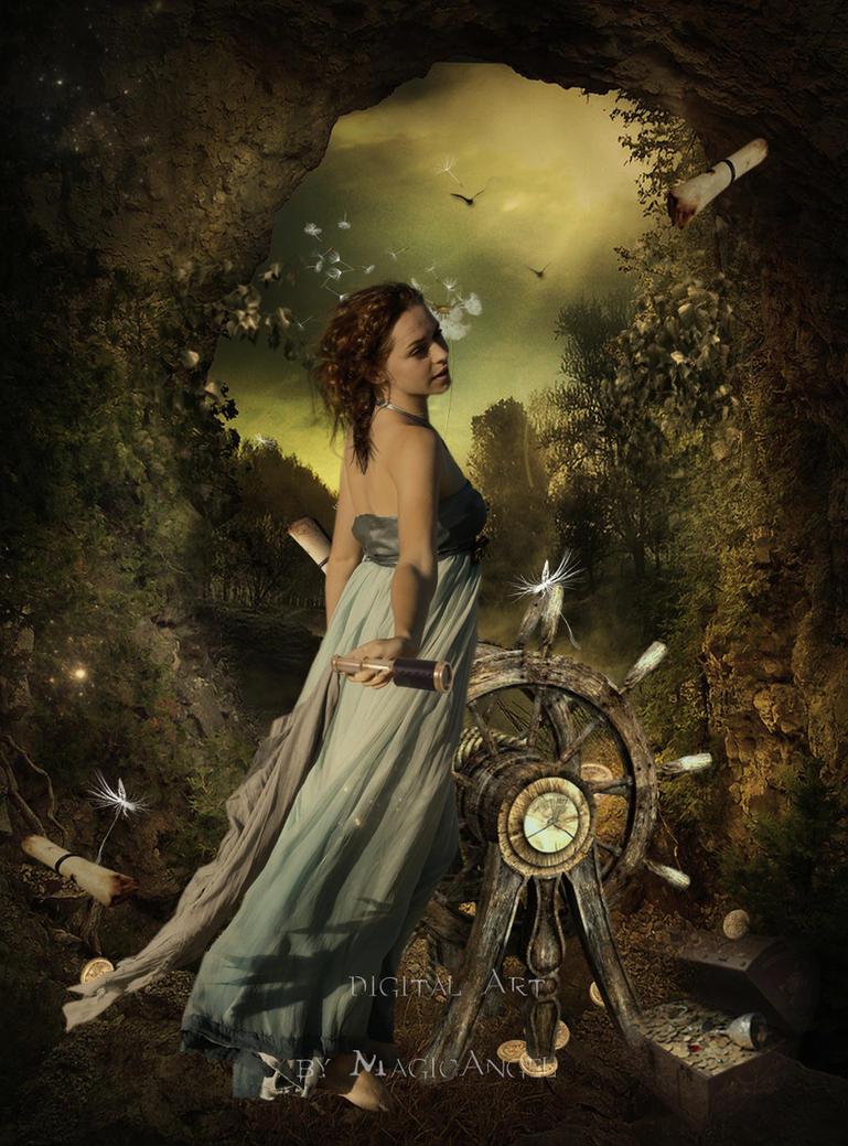 Pirate Girl by MagicAngel8773
