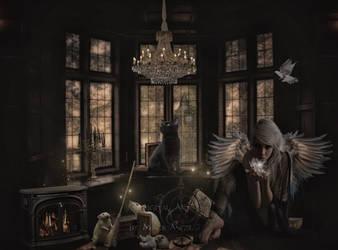 Dark Cinderella Angel