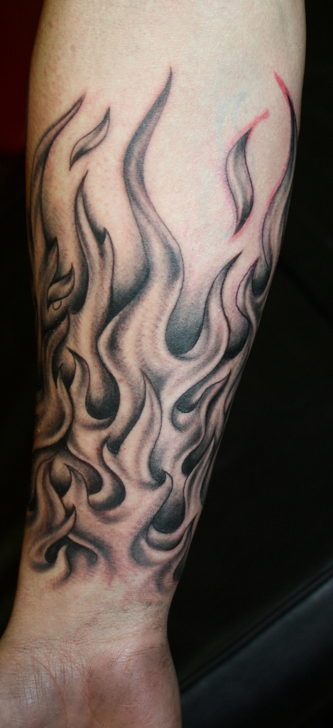 Flames Tattoo by Natissimo