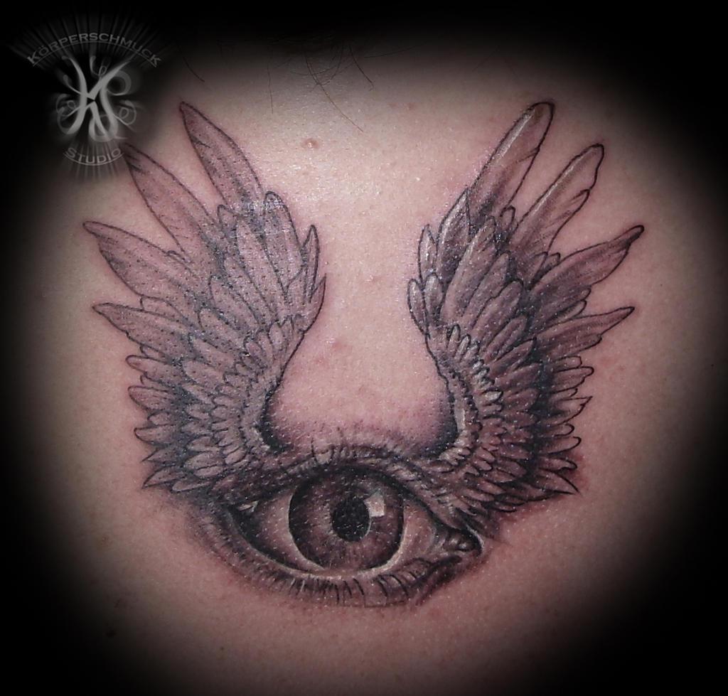 Eye tattoo by natissimo on deviantart for Eyeball tattoo pics