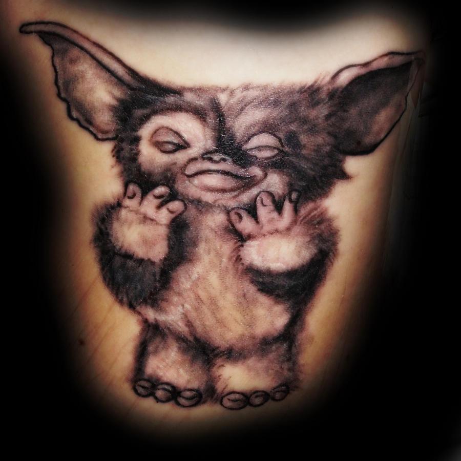 Mogwai Gizmo Tattoo by Natissimo