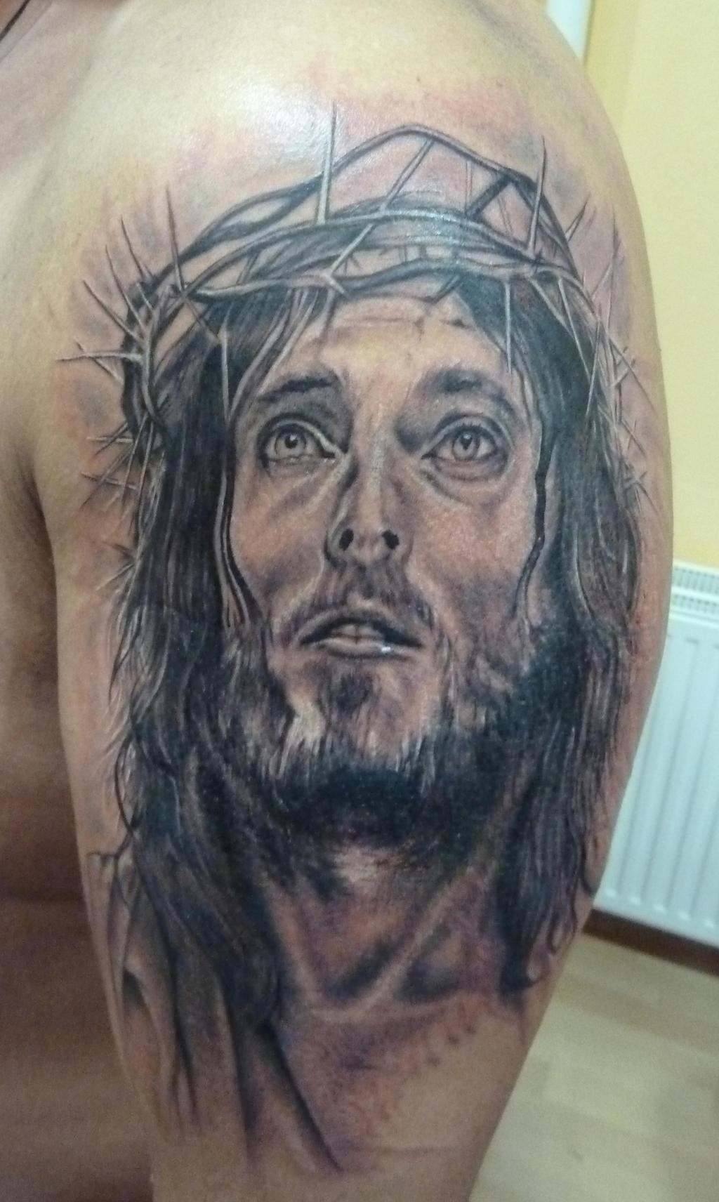 D Jesus Tattoo Designs