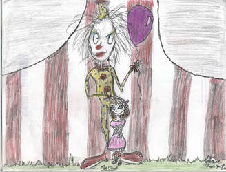 The Clown by OnyxWillow