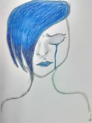 Feeling Blue by OnyxWillow