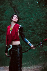 Dragon Age - Morrigan by es-serath