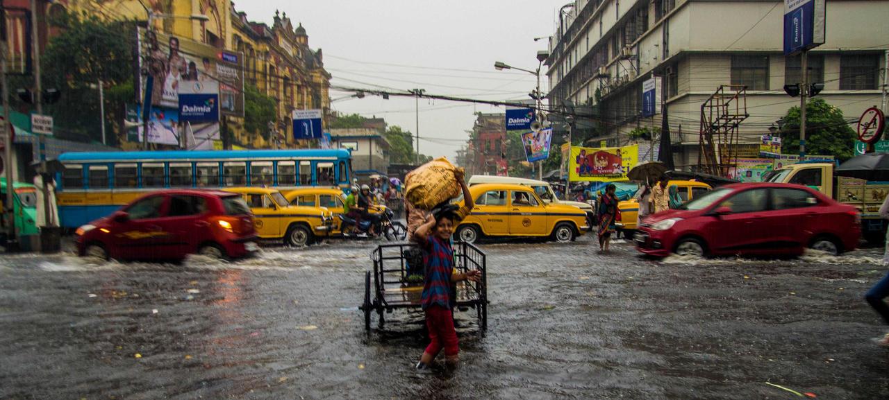 Monsoon Kolkata by SnapShotDataBase