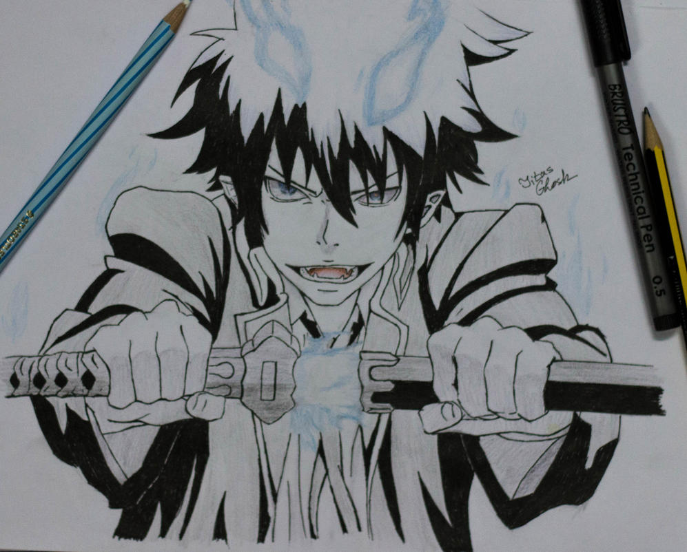 Son Of Satan, Rin Okumura by SnapShotDataBase