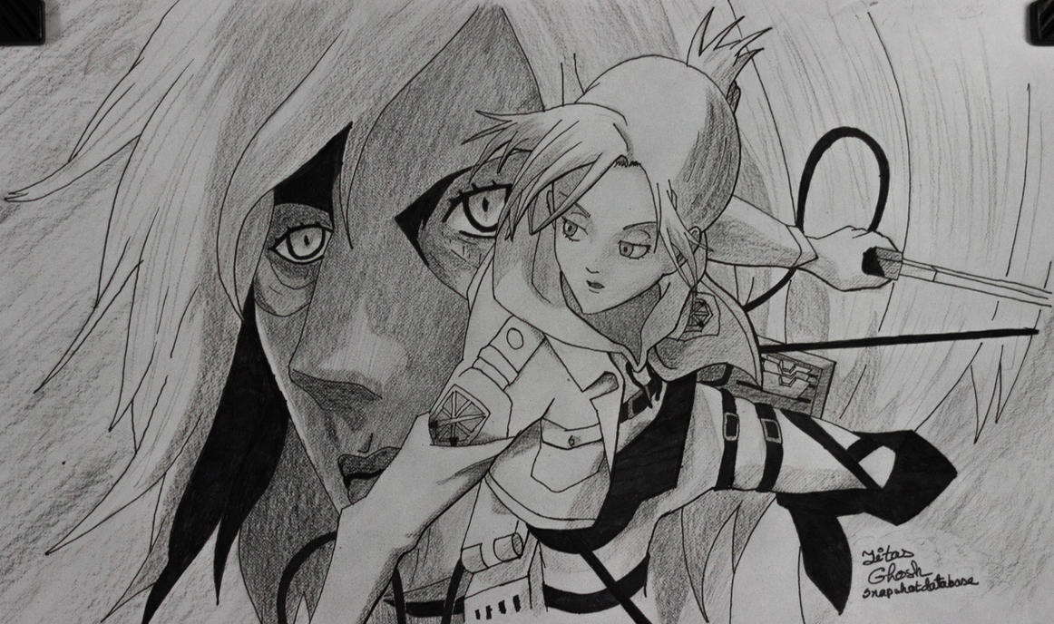 Annie Leonhart Fan Art by SnapShotDataBase