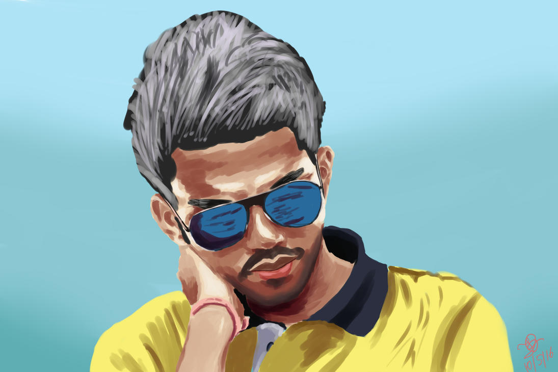 Portrait of a friend: Avik Mondol by SnapShotDataBase