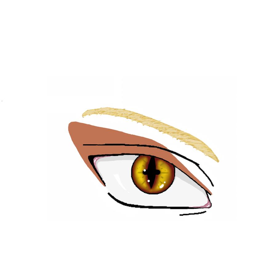 Naruto's eye Sennin-Ky...