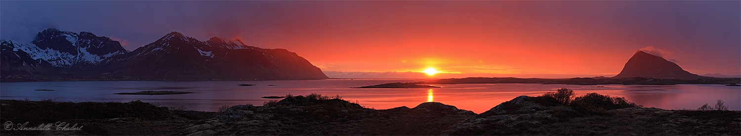 Midnight sun by Annabelle-Chabert