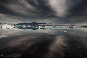 Lagune du glacier by Annabelle-Chabert