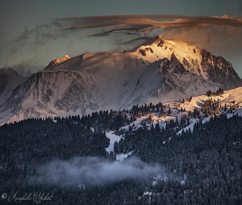 Mont Blanc by Annabelle-Chabert
