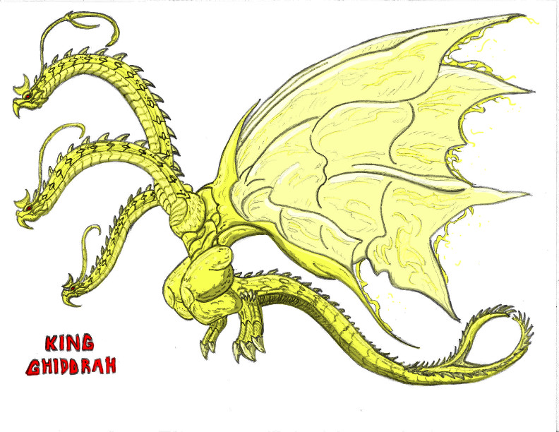King Ghidorah by Kaijudude on DeviantArt
