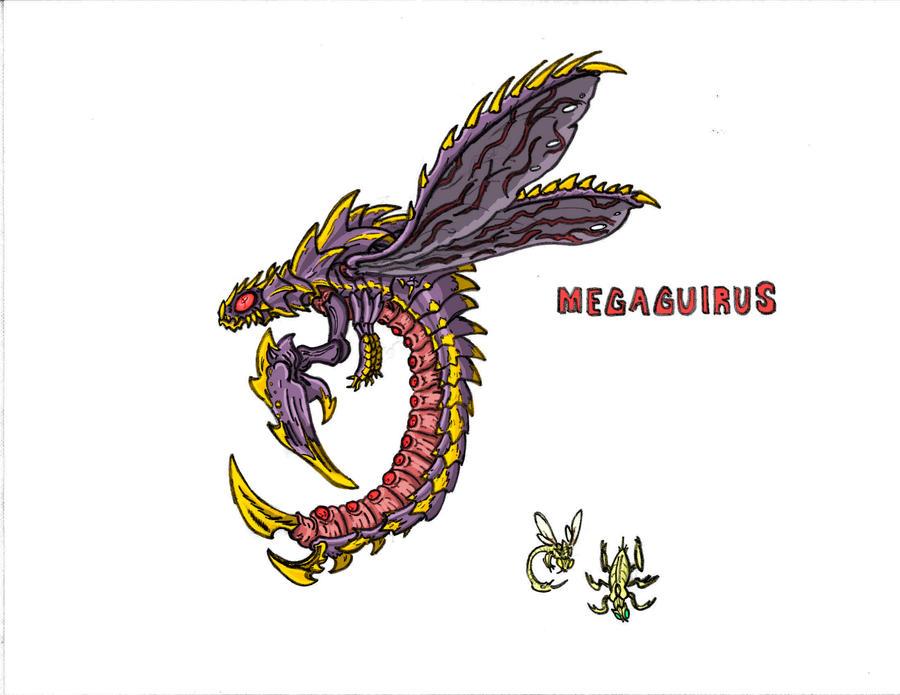 Megaguirus by Kaijudude on DeviantArt