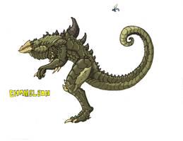 Chameleon by Kaijudude
