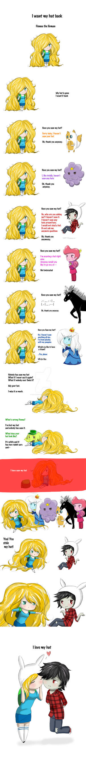 I Want My Hat Back: Fionna the Human