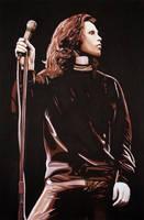 Jim Morrison by daveycross