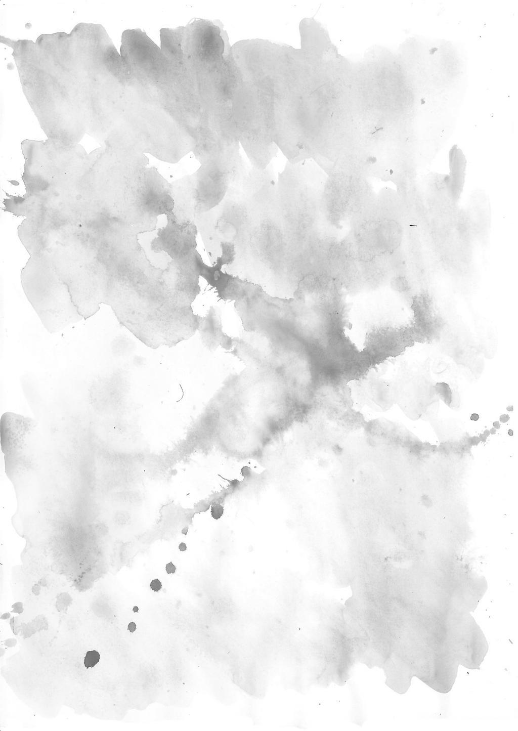Black And White Watercolour Texture By Louiseathorrorlane On