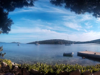 Chorvatsko lodi   Croatia by boat - Day blue by CaenRagestorm