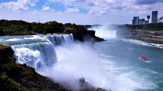 Niagara Falls by CaenRagestorm