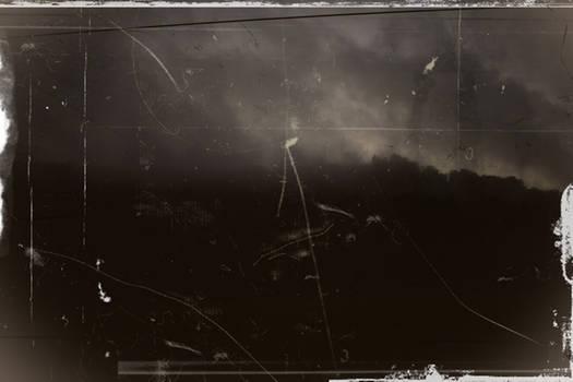 Apocalypse behind the train window