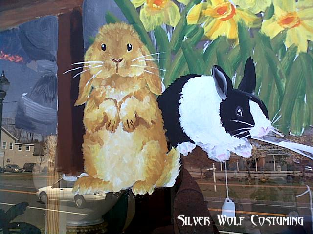 Spring Window Painting By RatTrapStudios