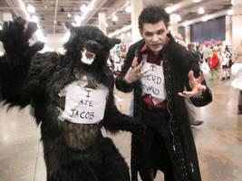 Werewolf and Vampire Kill Twilight by RatTrapStudios