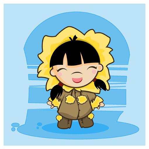 Little Girl Eskimo by SquidPig