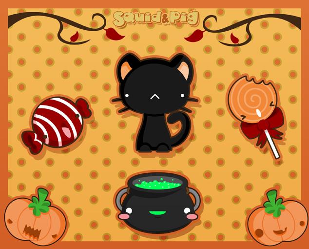 Halloween Special Series n2 by SquidPig