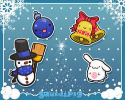 Merry X-mas 2 by SquidPig
