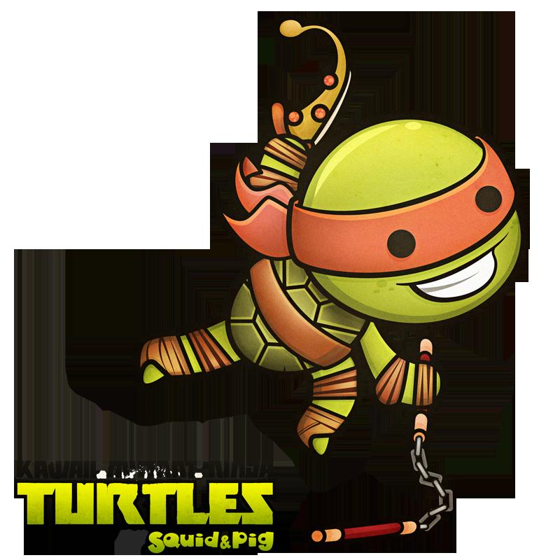 Ninja turtle michelangelo drawing - photo#22