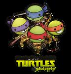 Kawaii Mutant Ninja Turtles