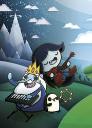 Ice Kingdom - Kawaii Adventure Time by SquidPig